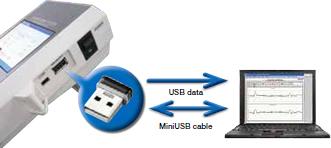 (照片內的微型 USB 隨身碟為選購配件)